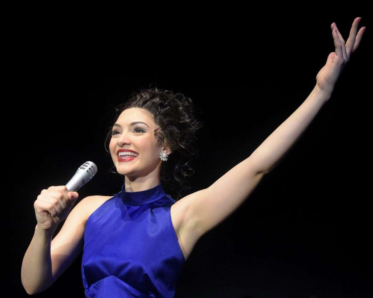 Maria Bilbao appears as Gloria Estefan in the musical,