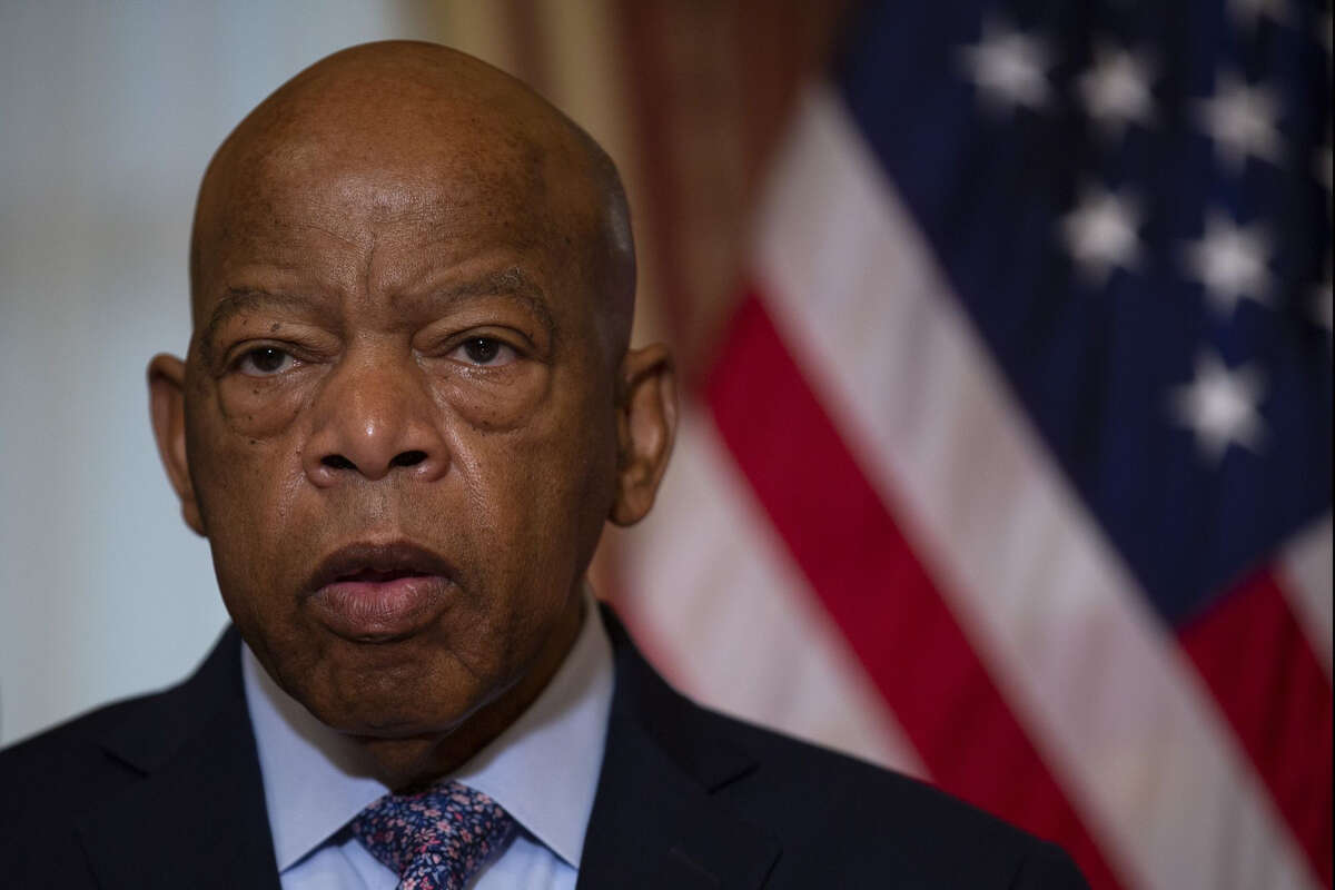 Rep. John Lewis, D-Ga., on Capitol Hill in Washington D.C., on June 21, 2019.