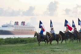 In fall 2019, Disney Cruise Line returns to Galveston with a variety of itineraries to the Caribbean and the Bahamas. Guests sailing to the Bahamas will experience tropical beauty with a stop at Disney's private island paradise, Castaway Cay. Source: Disney Cruise Line