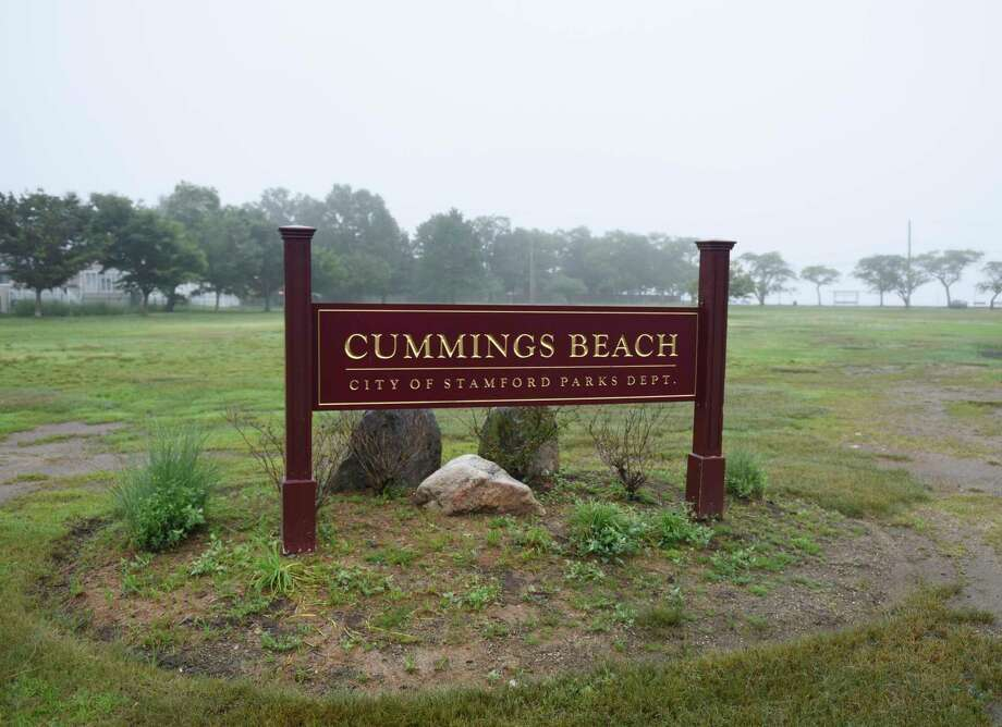 Cummings Beach in Stamford, Conn., photographed on Thursday, June 20, 2019. Photo: Tyler Sizemore / Hearst Connecticut Media / Greenwich Time