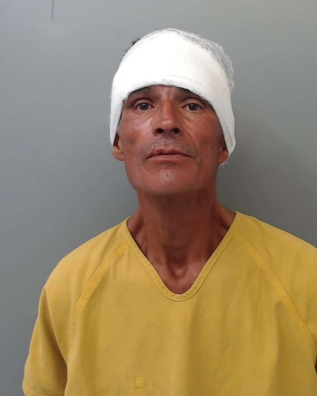 Jose Garcia III, 51, was charged with criminal mischief.