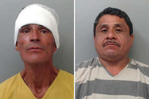 Two men have been arrested following a disturbance in central Laredo.