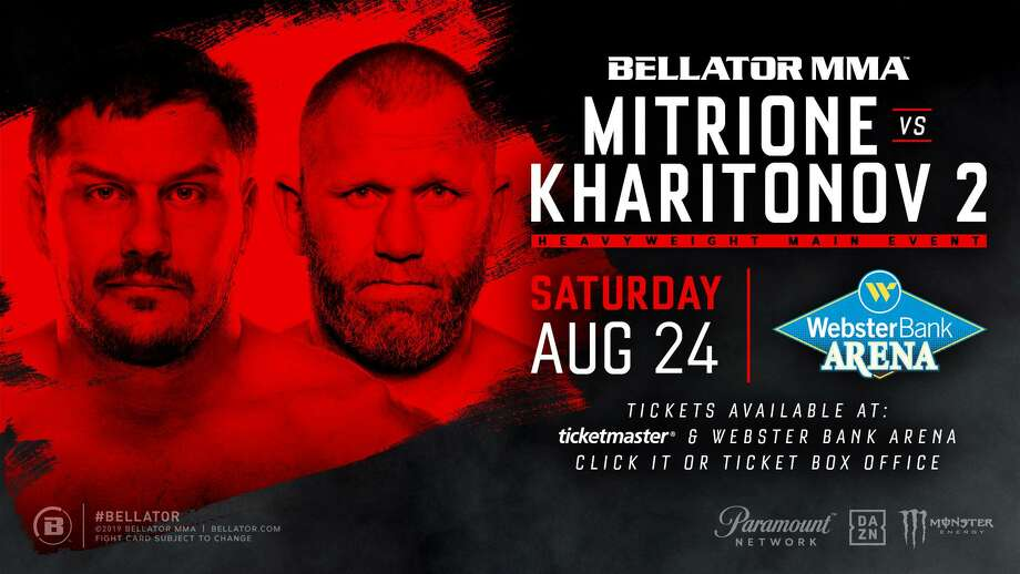 MMA will make its debut at Bridgeport's Webster Bank Arena on Aug. 24, with Bellator 225: Mitrione vs. Kharitonov 2. Photo: Webster Bank Arena / Contributed Photo