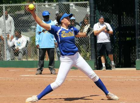 Nicole May - the Gatorade California Player of the Year this season -- was 24-0 with a 0.32 ERA for unbeaten Foothill-Pleasanton. She also hit .463 with 27 RBIs.