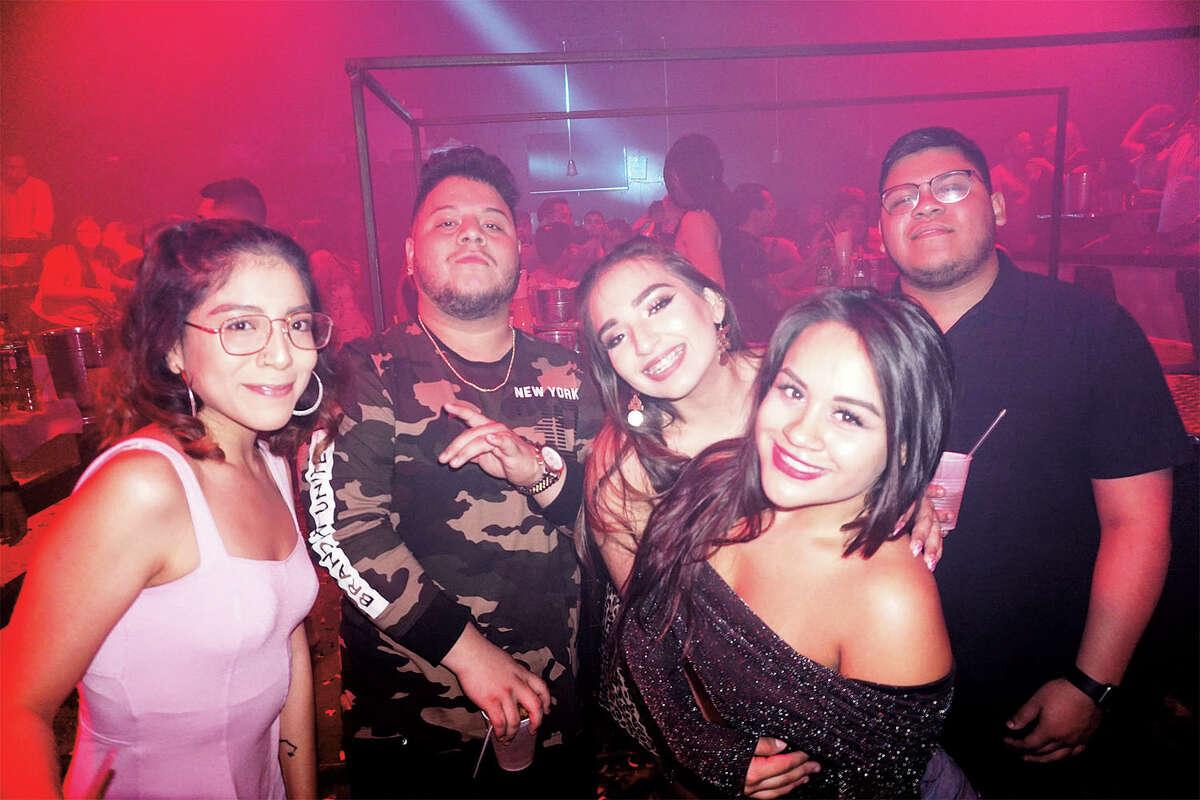 Reshma Peerbhai, Ruben Soto, Karla Herrera, Maddie Vichez and Mauricio Rivera at Club Vibe