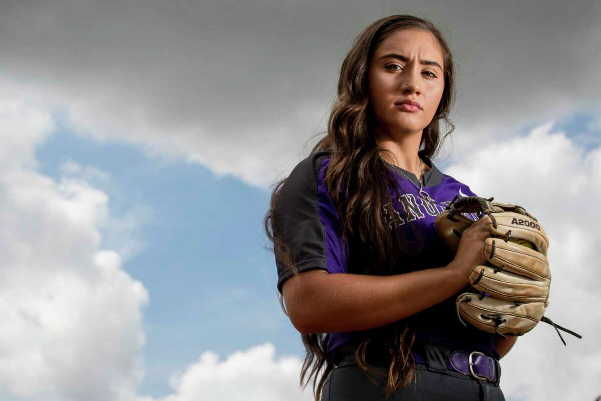 Angleton High School softball pitcher Aaliyah Garcia is the 2019 All-Greater Houston softball pitcher of the year. Angleton captured the Class 5A state softball title this year.