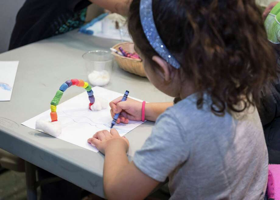 "Greenwich's Bruce Museum is hosting ""Summer Family Day: Swimming with Sharks and Art"" July 14. Photo: Carola Muis / Contributed Photo / Carola Muis"