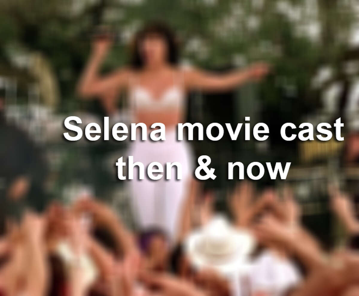 'Selena' movie cast then & now