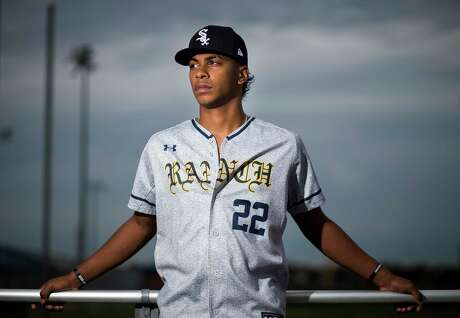 Cy Ranch High School pitcher Matt Thompson was just drafted in the 2nd round by the Chicago White Sox. Photographed at Cy Ranch High School in Cypress, Monday, June 17, 2019.