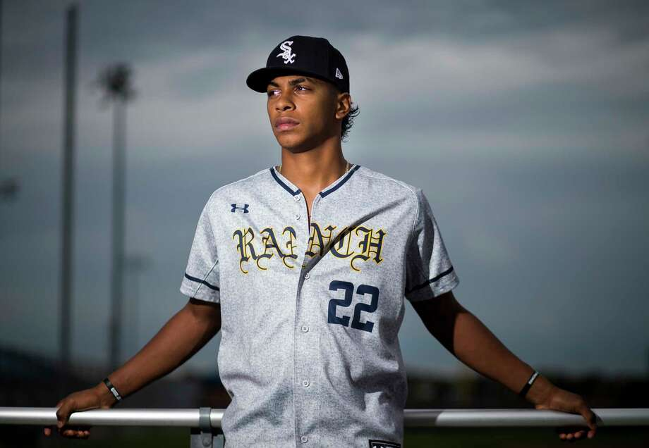 Cy Ranch High School pitcher Matt Thompson was just drafted in the 2nd round by the Chicago White Sox. Photographed at Cy Ranch High School in Cypress, Monday, June 17, 2019. Photo: Mark Mulligan, Staff Photographer / © 2019 Mark Mulligan / Houston Chronicle