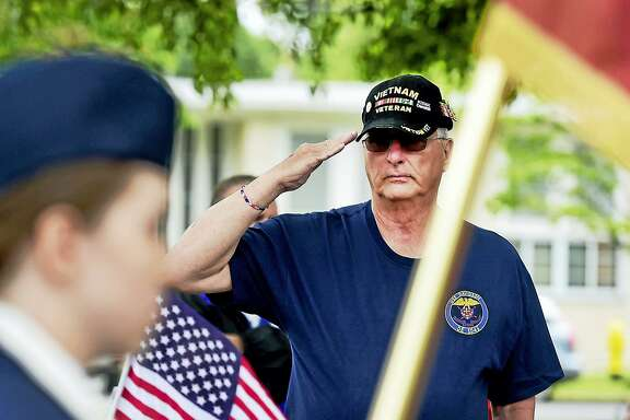 A reader suspects tensions with Iran may be a deception like the Gulf of Tonkin. Like the reader, this Navy veteran in Milford, Conn., who served in the Gulf of Tonkin, remembers those who died in Vietnam.