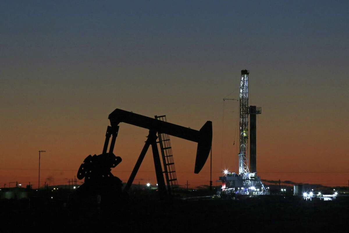 An oil rig and pump jack in Midland, Texas last year. The crude from the Permian Basin is uniquely suited for new mandates for cleaner fuels for shipping.