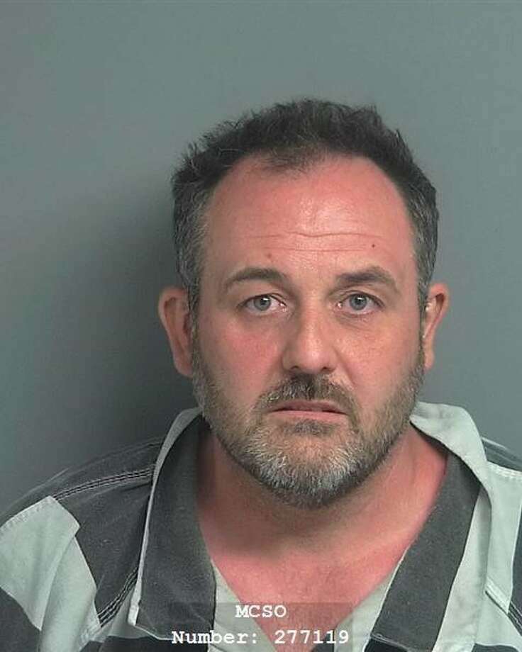Shawn Paul Corriston, 46, of Spring, is being charged with disorderly conduct by displaying a firearm, a Class B misdemeanor. Photo: Courtesy Of The Montgomery County Precinct 2 Constable's Office