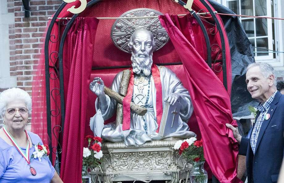 The 119th Feast of St. Andrew runs through Sunday, June 23, offering nights of free musical entertainment and Italian food in Historic Wooster Square--St. Andrew Apostle Society club grounds, 515 Chapel St., New Haven. Admission is free. Photo: Contributed