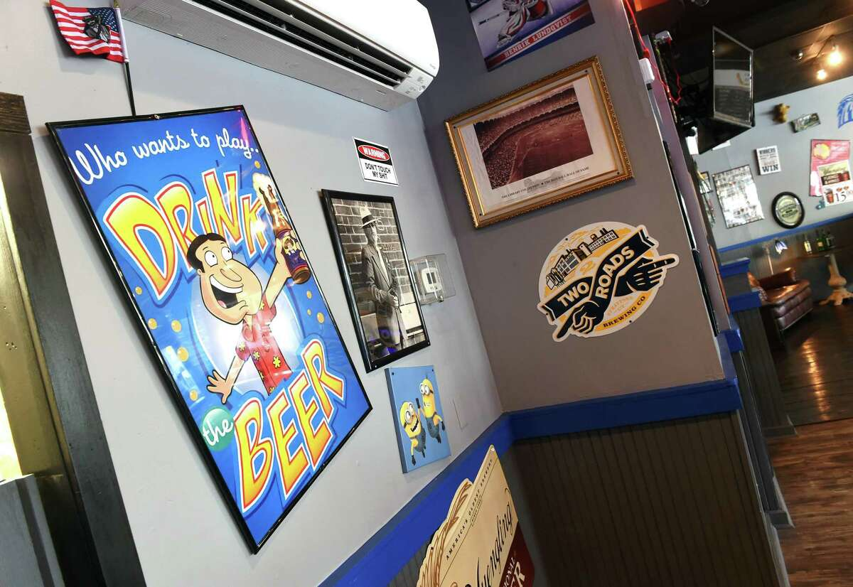 Inside the Blue Horse in West Haven