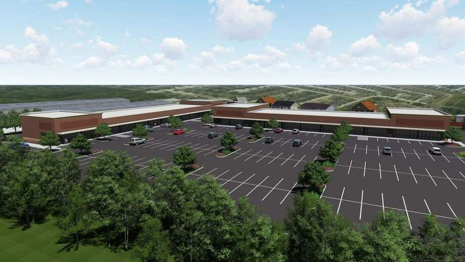 A new shopping center on Norhtpark Drive in Kingwood is scheduled to open by the early 2020. Photo: Courtesy: Jack Gross