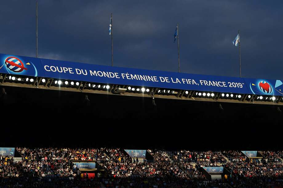 A part of the stadium is seen in the sun light during the France 2019 Women's World Cup Group D football match between Scotland and Argentina, on June 19, 2019, at the Parc des Princes stadium in Paris. (Photo by FRANCK FIFE / AFP)FRANCK FIFE/AFP/Getty Images Photo: FRANCK FIFE;Franck Fife / AFP / Getty Images