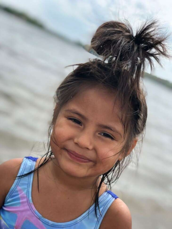 Border Patrol agents separated 4-year-old Briana from her father in March 2019 after apprehending them near Roma. They imprisoned her father for crossing illegally, sending the child to a federal shelter in Michigan. It took a month before they were able to find each other and speak by phone. She is part of more than 700 migrant children removed from their parents or other relatives since a June 2018 federal court injunction constrained the practice.