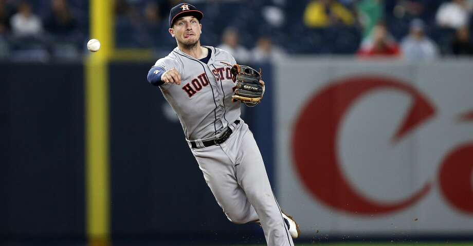 PHOTOS: Astros game-by-game Houston Astros shortstop Alex Bregman in action during the eighth inning of a baseball game against the New York Yankees on Thursday, June 20, 2019, in New York. (AP Photo/Adam Hunger) Browse through the photos to see how the Astros have fared in each game this season. Photo: Adam Hunger/Associated Press