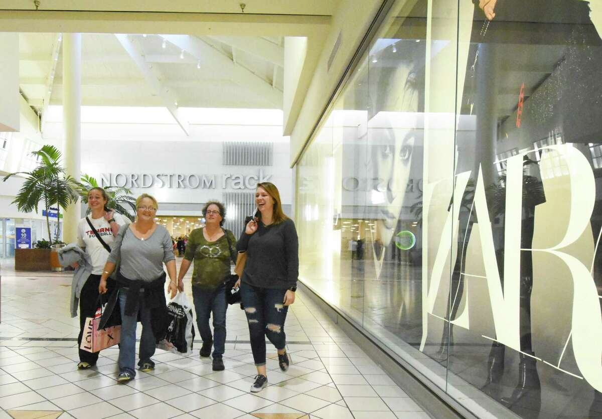 Willowbrook Mall Black Friday Captions left Lisa and Kelsey brown , mother daughter love shopping together after there second Black Friday visit to Willowbrook Mall