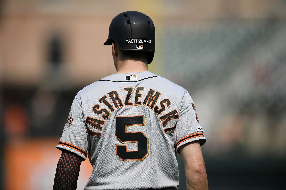Why Giants' Yastrzemski doesn't wear grandfather's legendary No. 8