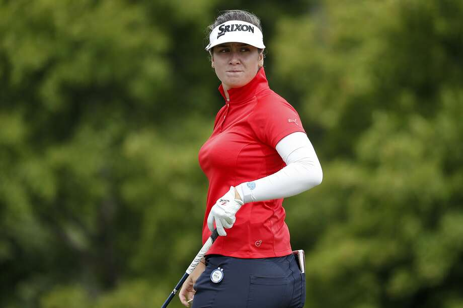 Hannah Green made four birdies and shot a 3-under 69 in second- round play. Photo: Charlie Neibergall / Associated Press