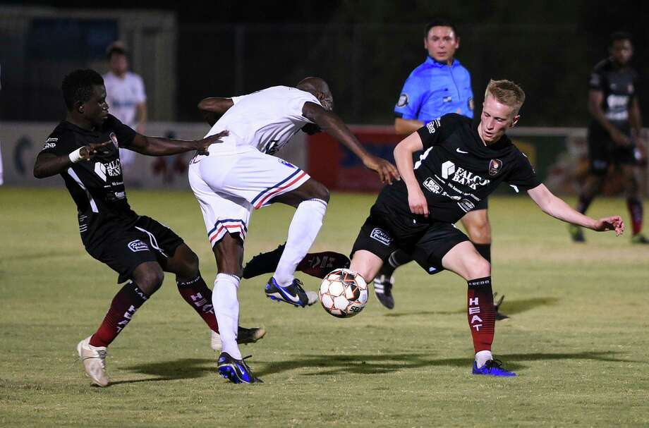The Heat are now 0-3-1 in their last four matches as they fell to Dallas City FC 1-0 Friday. Photo: Danny Zaragoza /Laredo Morning Times
