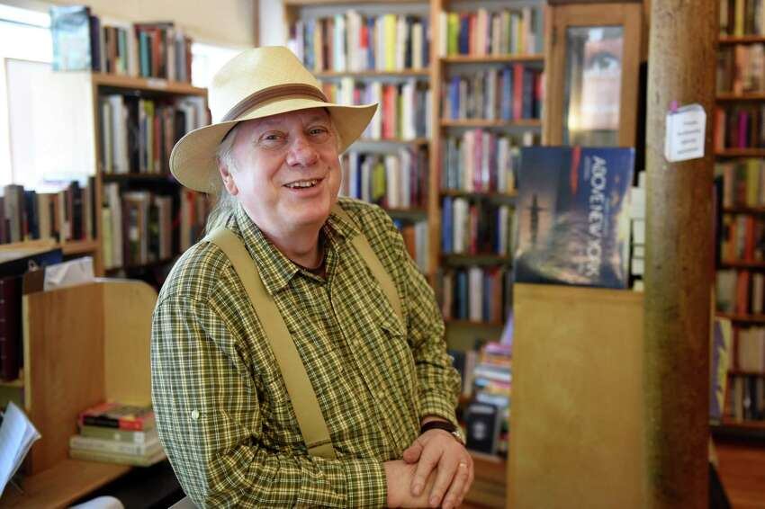 Dove and Hudson bookstore owner Dan Wedge at his store on Friday, June 21, 2019, in Albany, N.Y. Wedge is celebrating his 30th year owning the bookstore. (Will Waldron/Times Union)