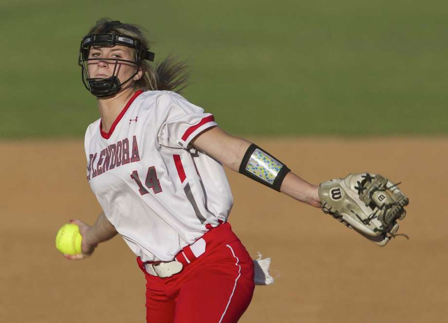 Splendora pitcher Caleigh Millican is The Courier's Player of the Year. Photo: Jason Fochtman, Houston Chronicle / Staff Photographer / © 2019 Houston Chronicle