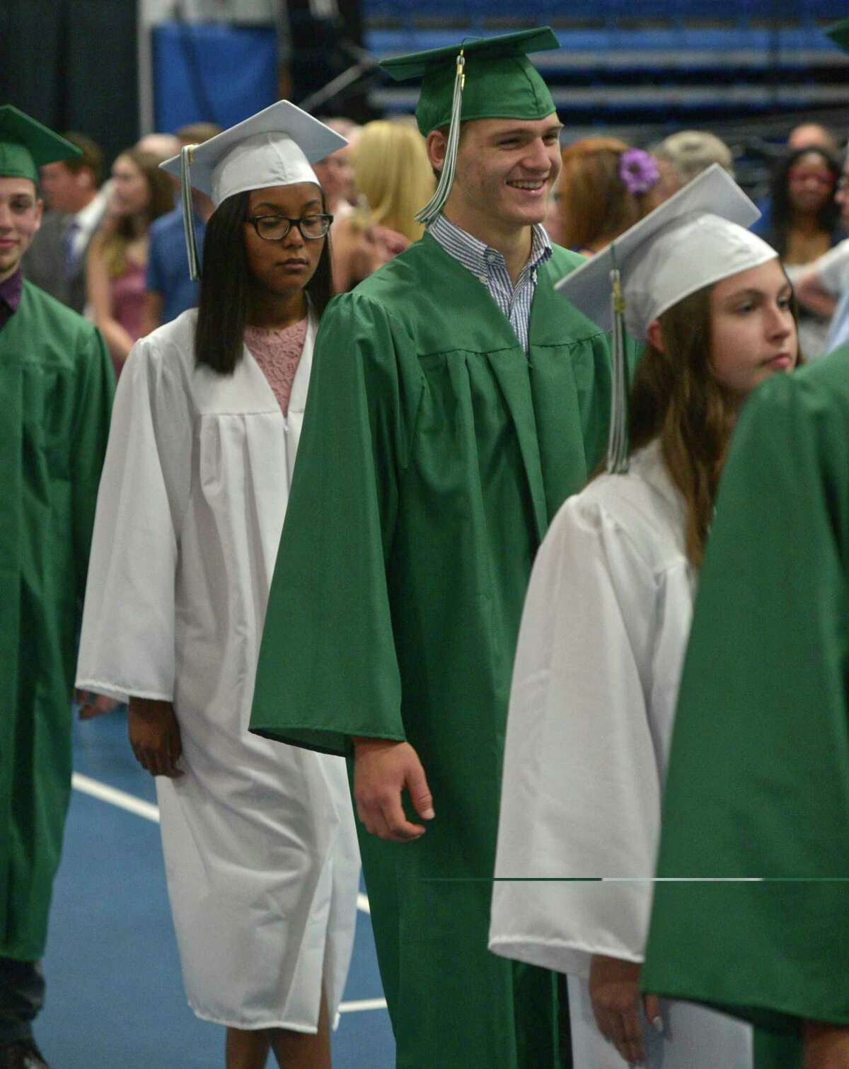The New Milford High School Class of 2019 Commencement, Saturday, June 22, 2019, at the O'Neill Center, Western Connecticut State University, Danbury, Conn.