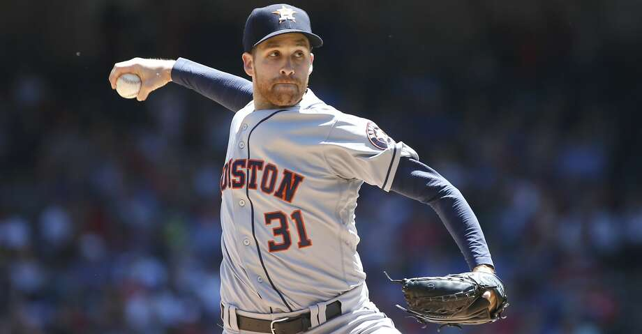 PHOTOS: Astros game-by-game Collin McHugh #31 of the Houston Astros throws against the Texas Rangers during the first inning at Globe Life Park in Arlington on April 21, 2019 in Arlington, Texas. (Photo by Ron Jenkins/Getty Images) Browse through the photos to see how the Astros have fared in each game this season. Photo: Ron Jenkins/Getty Images