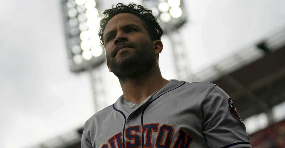 PHOTOS: Astros game-by-game Houston Astros' Jose Altuve in a baseball game against the Cincinnati Reds, Wednesday, June 19, 2019, in Cincinnati. The Reds won 3-2. (AP Photo/Aaron Doster) Browse through the photos to see how the Astros have fared in each game this season. Photo: Aaron Doster/Associated Press