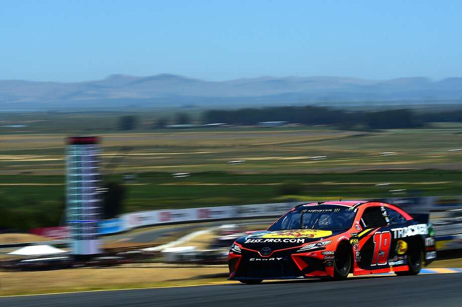 FILE: A qualifying race for the NASCAR Cup Series Toyota/Save Mart 350 at Sonoma Raceway on June 22, 2019. Photo: Jared C. Tilton, Getty Images