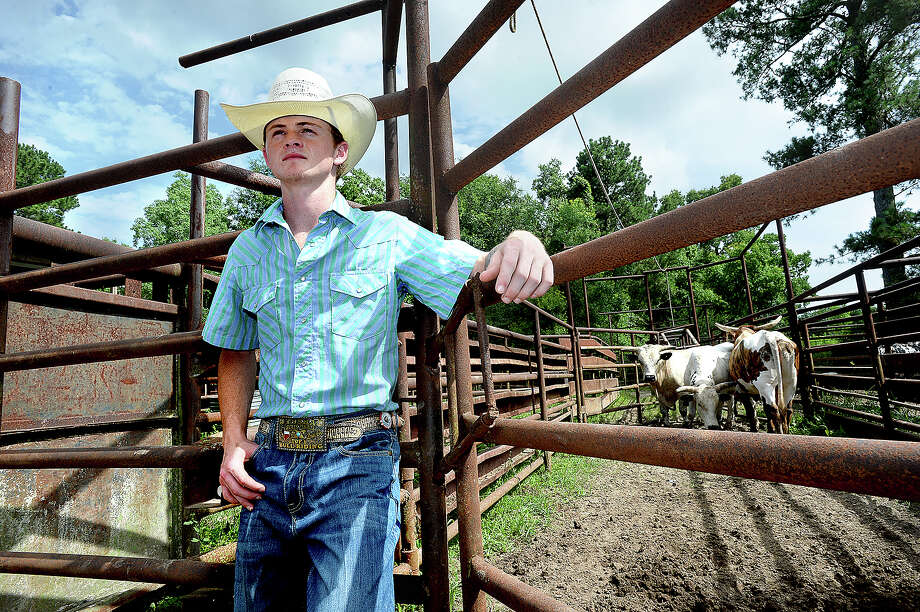 2019 Evadale graduate Bryce Taylor will head to Wyoming to compete in a national high school rodeo event in July. Taylor, who has been riding bulls competitively for about 5 years, gave up baseball to focus on the sport, and has earned a scholarship to join the rodeo team at McNeese State.