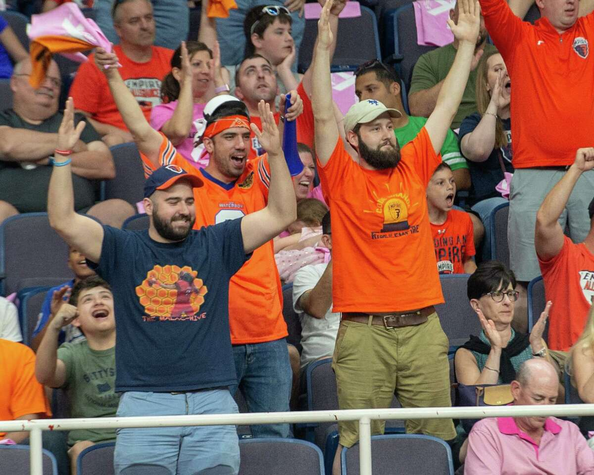 About 3,500 fans will be allowed to the Albany Empire opener.
