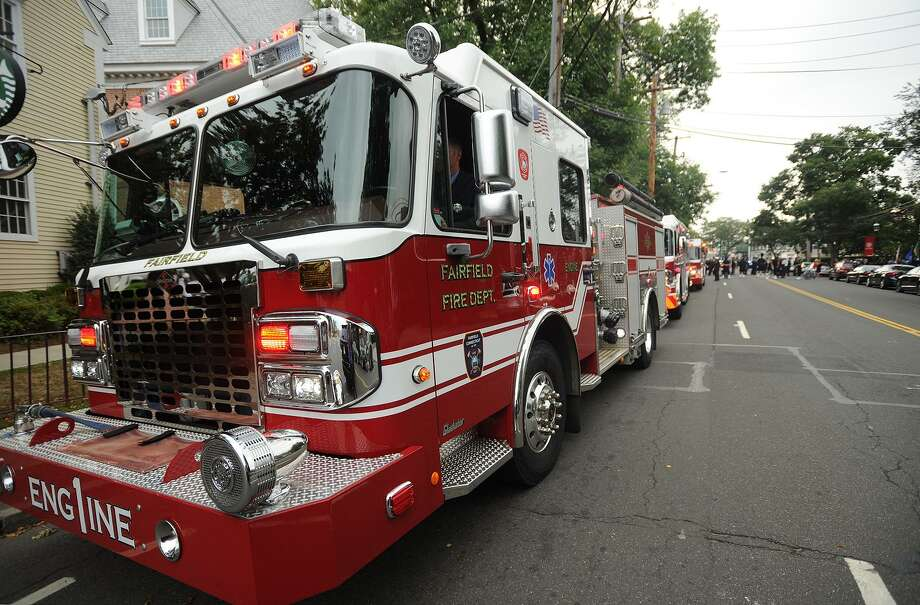 A Fairfield Fire Department engine is seen in this file photo. Photo: Brian A. Pounds / Hearst Connecticut Media / Connecticut Post