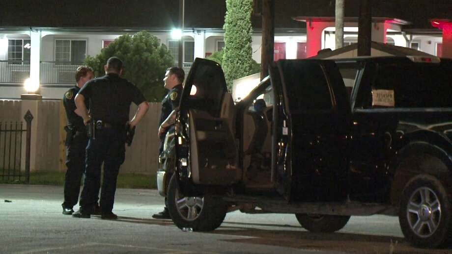 "A man and a woman were shot as they walked to their pickup truck at the ""Exclusive Bar"" in South Houston. Photo: Metro Video Services"