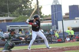 Misael German went 2-for-2 in the Tecolotes' loss Saturday.