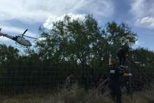 Laredo Sector Border Patrol agents combined with multiple agencies for a search and rescue incident which led to the apprehension of 110 undocumented immigrants.