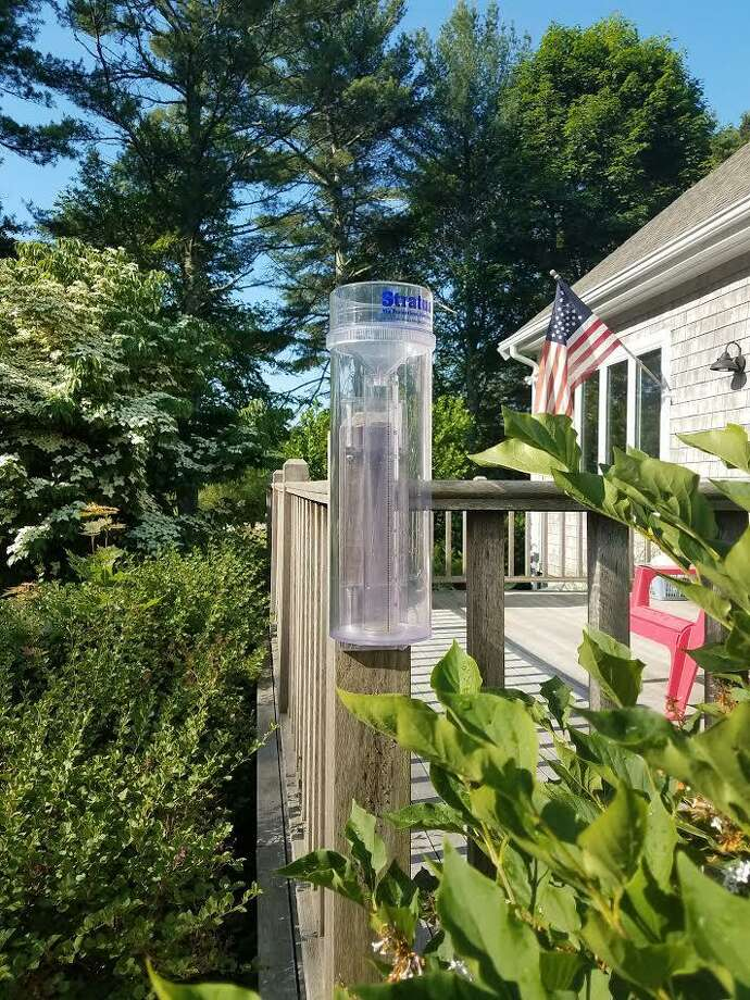 The National Weather Service is recruiting volunteers in Connecticut to report rainfall and snowfall totals through CoCoRaHS, the Community Collaborative Rain, Hail, and Snow network. All that's needed to join is a rain gauge, a PC or mobile app to report online, and an interest in observing the weather. Photo: Contributed Photo
