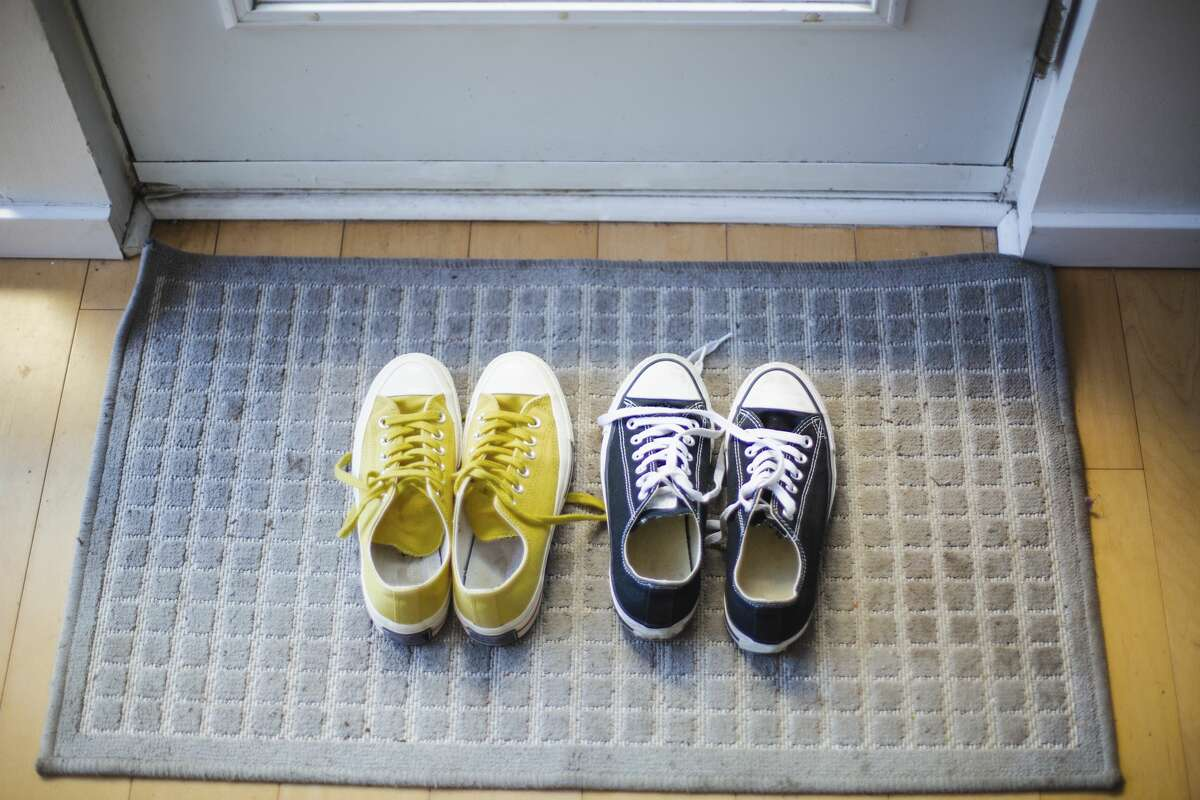 Keeping shoes for outdoor use only has benefits.
