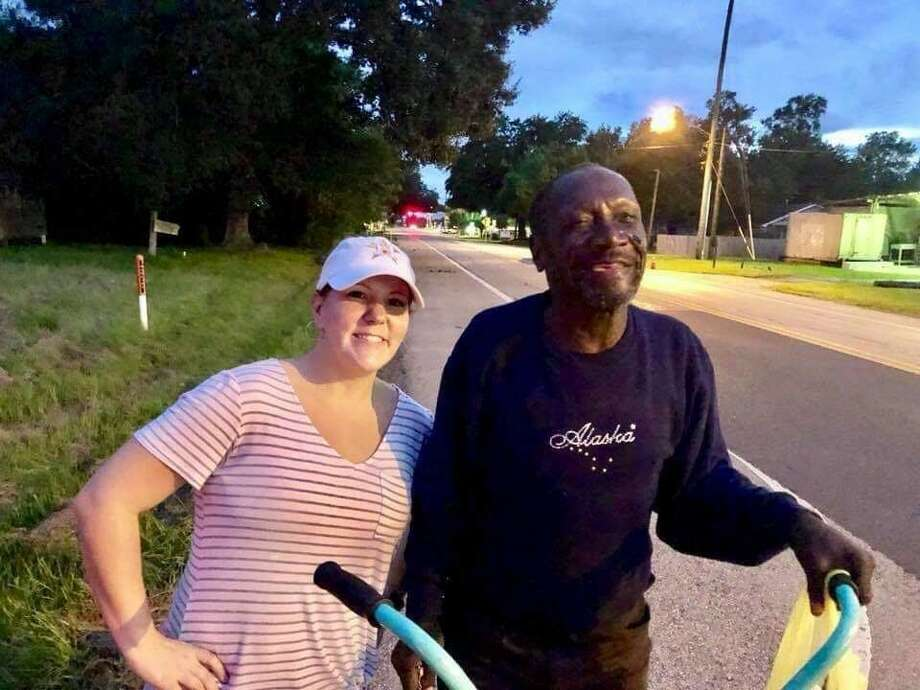 Mr. Louis was well known for riding a bicycle, drinking a Dr Pepper, and giving a smile to everyone he met. Photo: Megan Scheffers