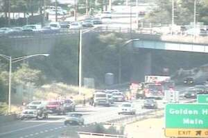 Athree-vehicle crash was reported on Route 8 southbound between exits 2 and 1 in Bridgeport at 5:38 p.m. Sunday, June 23, 2019.