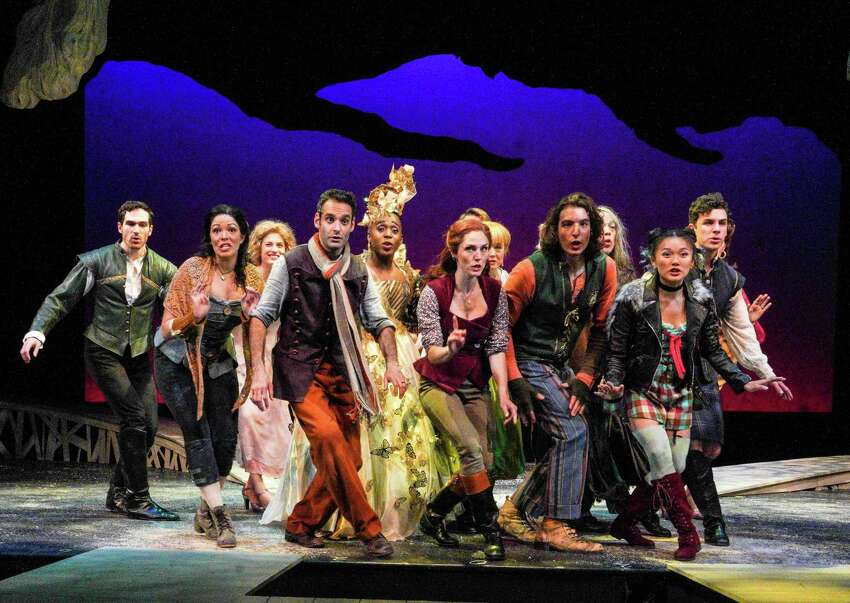 The cast of Barrington Stage Company's