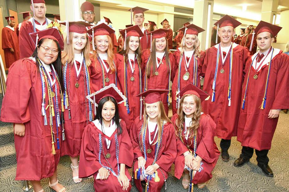 Torrington High School celebrated its graduating class of 2019 Sunday Night at The Warner Theatre. Photo: Lara Green- Kazlauskas/ Hearst Media