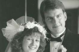 The couple in 1989.