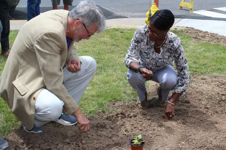 "Whiting Forensic Hospital Participates in ""Michaela's Garden Project"" Photo: Contributed Photo"