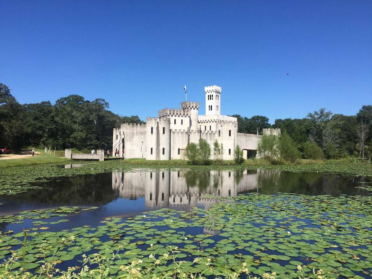Located a few minutes from downtown Bellville, Newman's Castle is surrounded by a moat and boasts a hand-operated 3,000-pound drawbridge, chapel, courtyard, great hall and even a dungeon. For $20, visitors can take an hour-long tour of the entire grounds six days a week. Photo by: Michelle K/Yelp