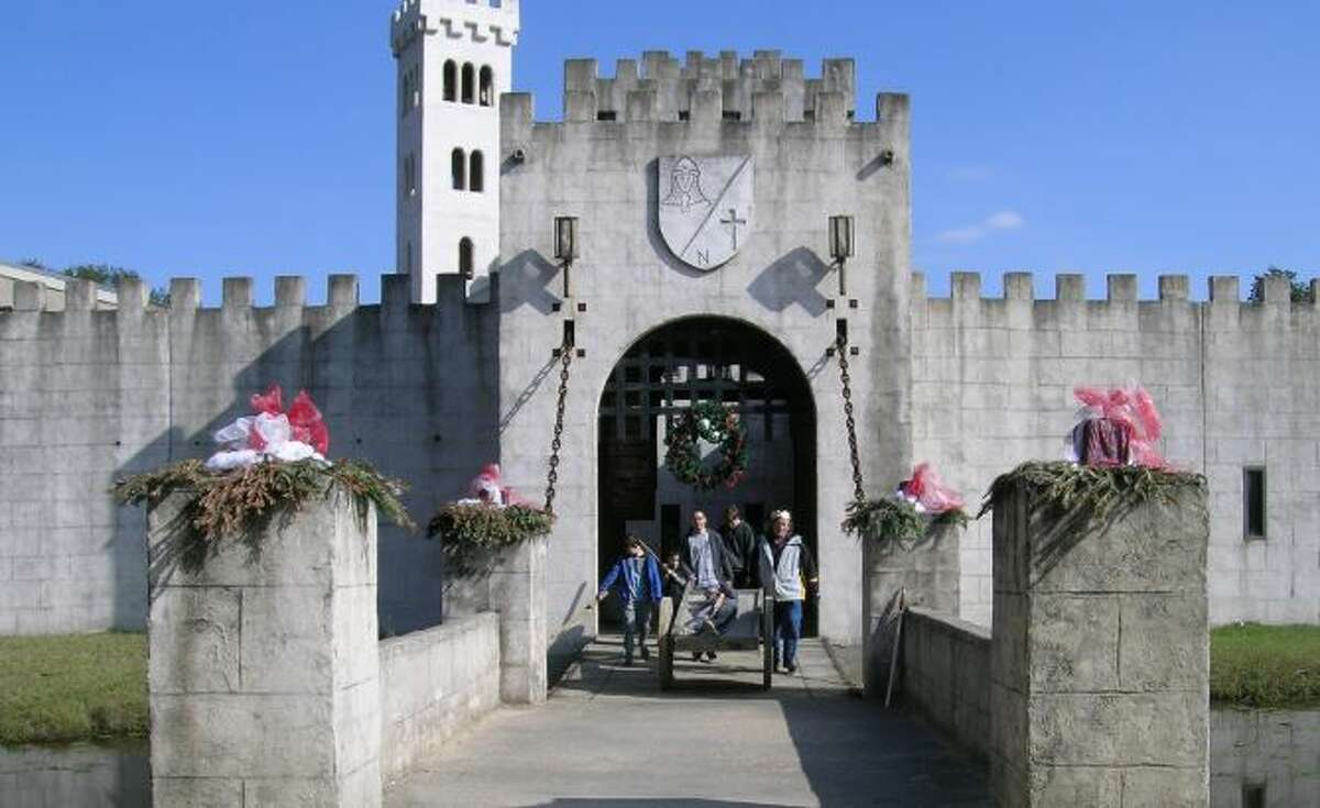 Located a few minutes from downtown Bellville, Newman's Castle is surrounded by a moat and boasts a hand-operated 3,000-pound drawbridge, chapel, courtyard, great hall and even a dungeon. For $20, visitors can take an hour-long tour of the entire grounds six days a week. Courtesy Newman's Castle