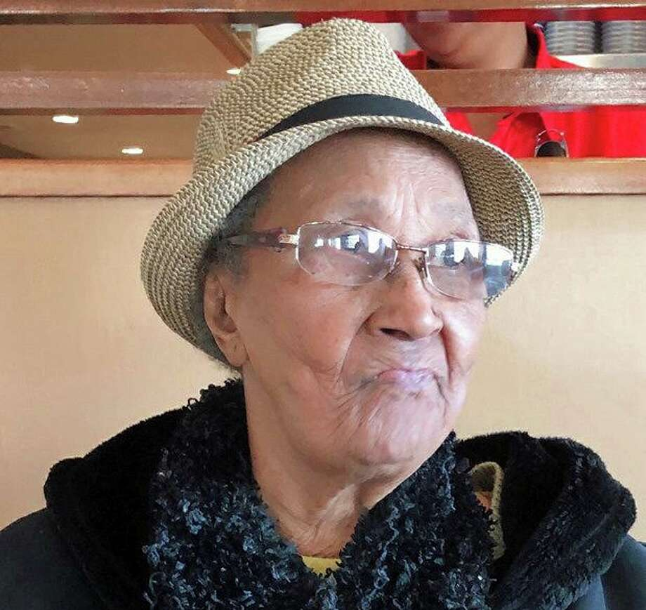 """A Silver Alert has been issued for a missing 82-year-old woman who has dementia and suffers from a medical condition that requires medication. Marie Pollas, who went missing Monday, June 24, 2019, is described as a black female,with gray hair, brown eyes, 5'5"""" and weighs 135 lbs. Photo: Norwalk Police Photo"""